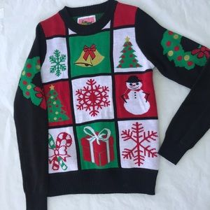 Ladies Tipsy Elves pullover Christmas sweater Med